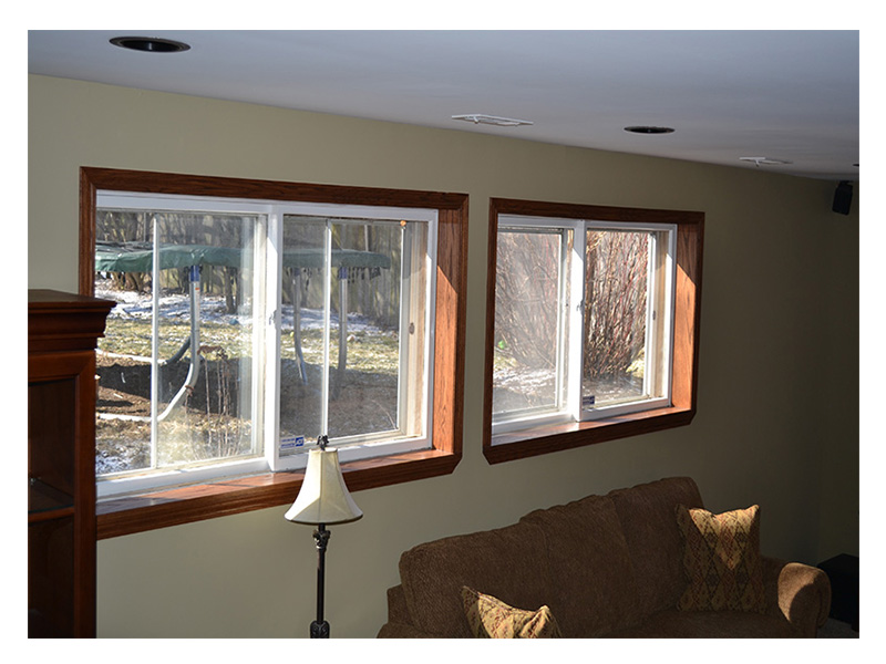 Basement Windows Installation, Chicago Area - JW Construction & Design Services