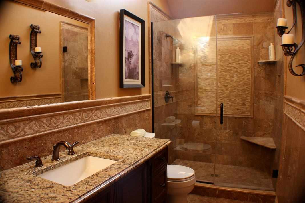 powder room remodeling chicago jw construction design services marble bathroom - Bathroom Remodeling Design