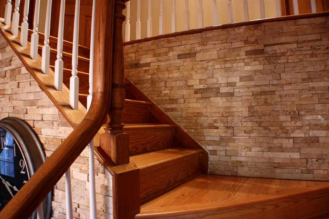 Hardwood Stairs - JWConstructionandDesign.com | Naperville Home Improvement