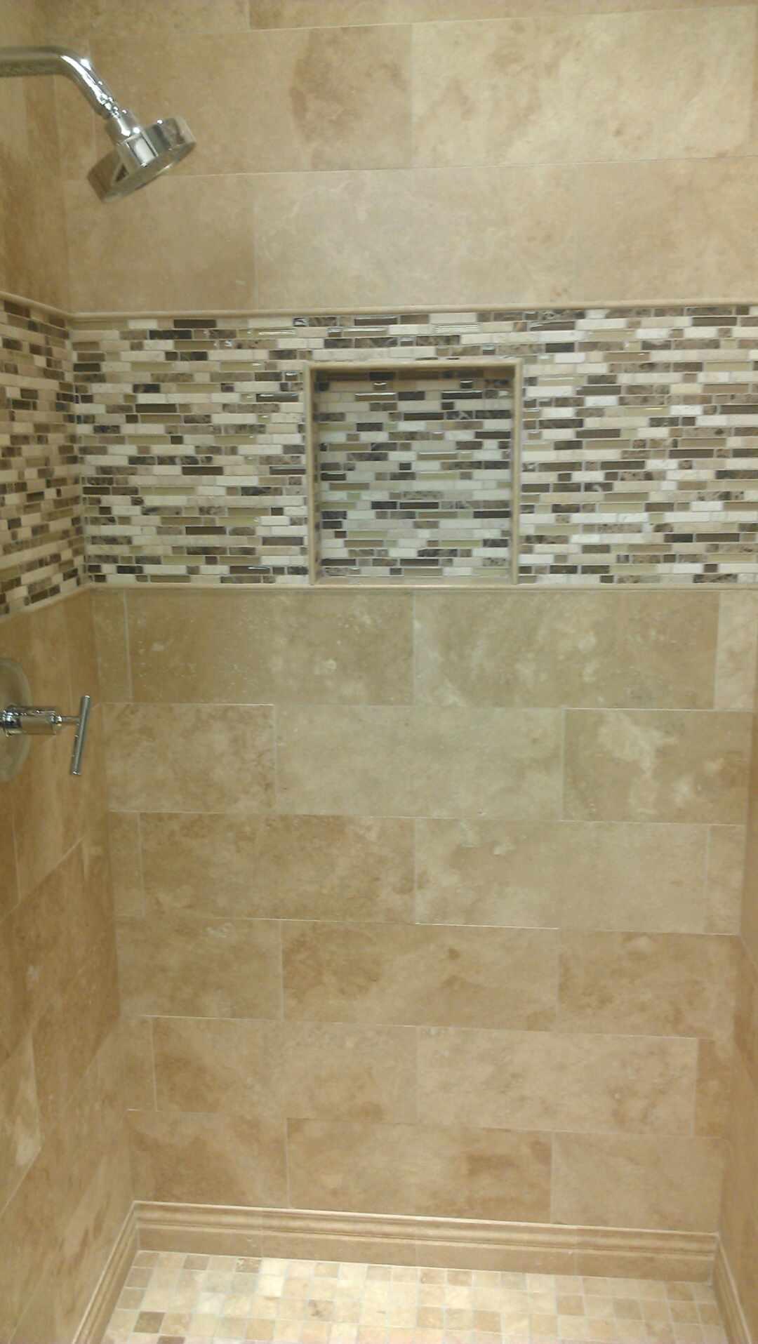 Shower Niche Tile Ideas
