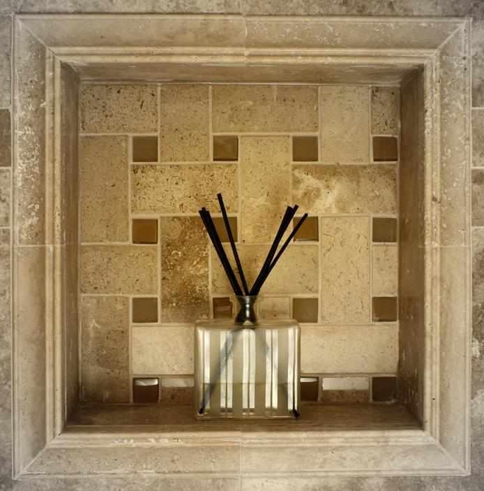 Tiling services tile installation jw construction design shower inset with mosaic tile installation chicago jw construction design studio services tyukafo