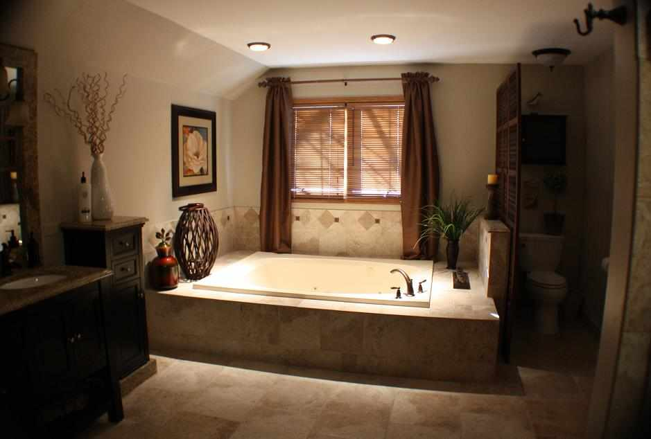 ... Tropical Bathroom Remodeling Chicago   JW Construction U0026 Design Studio  Services ...