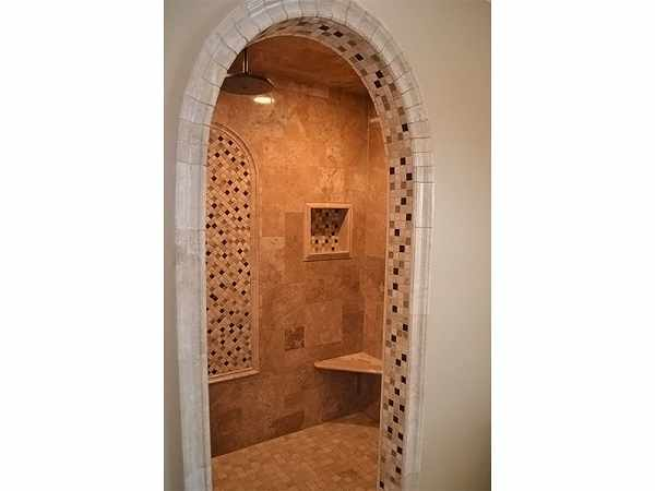 Versailles Tile pattern in Naperville Bathroom Remodel - JW Construction & Design Studio Services